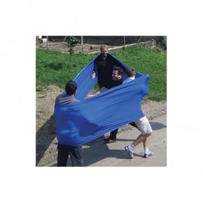 Das Band standard, blau - im Packsack