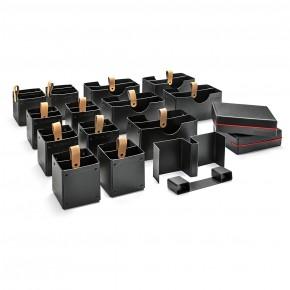 Novario® Boxen-Set, schwarz - für WorkshopKoffer XL Stick-It