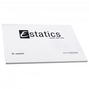 Estatics Pad A5, 50 Blatt je Block, weiss