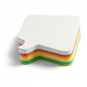 """Workshopkarte """"Bubble"""", Pin-It, 250 Stück, 6-farbig sortiert"""