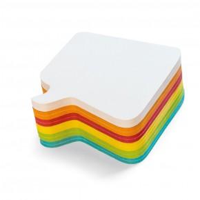"Workshopkarte ""Bubble"", Stick-It, 300 Stück, farbig sortiert"