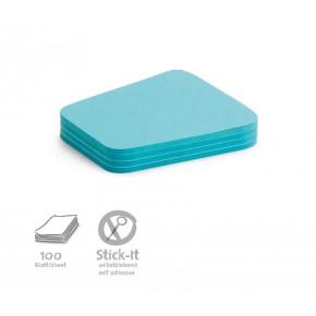 "Workshopkarte ""Comment"", Stick-It,100 Stück, blau"