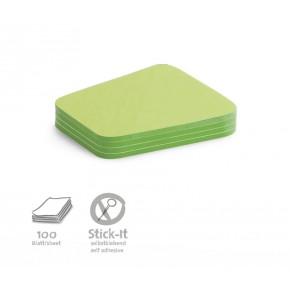 "Workshopkarte ""Comment"", Stick-It,100 Stück, grün"