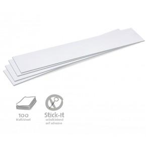 Überschriftenstreifen, Stick-It, 100 Stück, uni