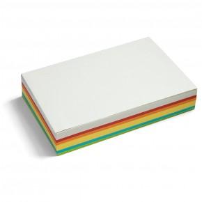 Maxi-Rechteck Karten, Pin-It, 250 Stück, 6-farbig sortiert