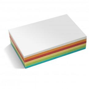Maxi-Rechteck Karten, Stick-It, 300 Stück, farbig sortiert