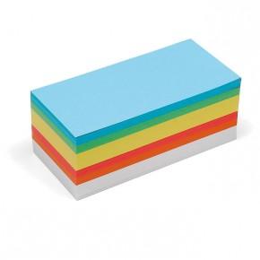 Rechteck-Karten, Pin-It, 500 Stück, 6-farbig sortiert