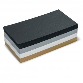 Rechteck-Karten, Pin-It, 500 Stück, in gedeckten Farben sortiert