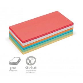 Rechteck-Karten, Stick-It, 300 Stück, 6-farbig sortiert