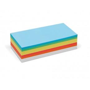 Rechteck-Karten, Pin-It, 250 Stück, 6-farbig sortiert