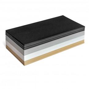 Rechteck-Karten, Stick-It, 300 Stück, in gedeckten Farben sortiert