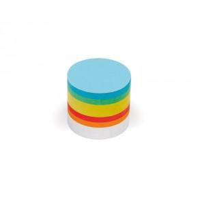 Kleine runde Scheiben, Pin-It, 500 Stück, 6-farbig sortiert