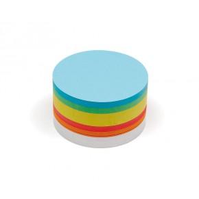Mittlere runde Scheiben, Pin-It, 500 Stück, 6-farbig sortiert