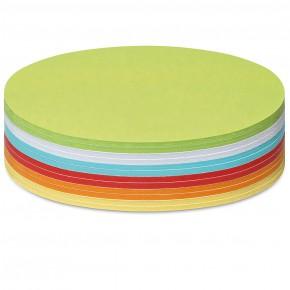 Grosse runde Scheiben, Stick-It, 300 Stück, 6-farbig sortiert