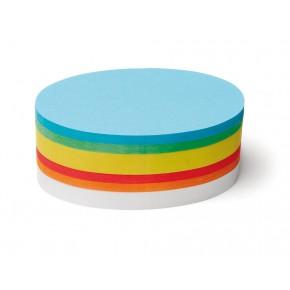 Ovale Scheiben, Pin-It, 500 Stück, 6-farbig sortiert
