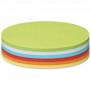 Ovale Scheiben, Stick-It, 300 Stück, farbig sortiert