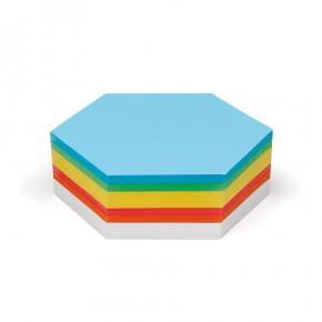 Waben-Karten, Pin-It, 250 Stück, 6-farbig sortiert