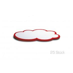 Moderations-Wolken, Pin-It, 25 Stück, 23x14 cm