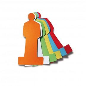 ModPeople, Pin-It, 120 Stück, 6-farbig sortiert