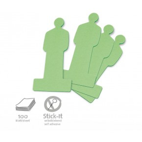 ModPeople Stick-It, 100 Stück, grün