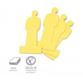 ModPeople Stick-It, 100 Stück, gelb