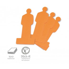 ModPeople Stick-It, 100 Stück, orange