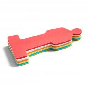 ModPeople, Stick-It, 150 Blatt, 6-farbig sortiert