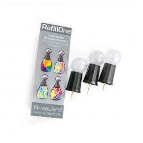 Ersatzkappen für RefillOne im 3-er Set