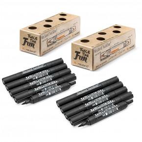 Neuland TwinOne®, Keil- und Pinselspitze, 10er Sets
