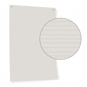 Pinwand-Papier, weiss mit Linienstruktur