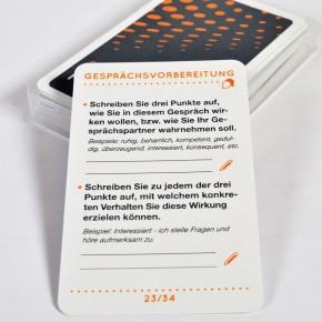 Kartenset Gesprächsvorbereitung
