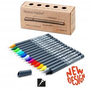 Neuland FineOne® Sketch, Finelinerspitze 0,5 mm, 15er Farbset No. 15-2