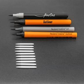 Ersatzspitzen Neuland FineOne® Art, Pinselspitze 0,5 - 5mm