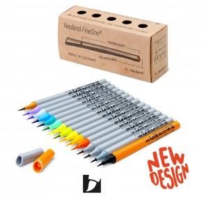 Neuland FineOne® Art, Pinselspitze 0,5-5 mm, 15er Farbset No. 15-2