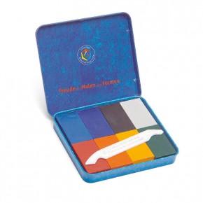 Blocs de cire à dessin Stockmar, assortiment de 8 couleurs