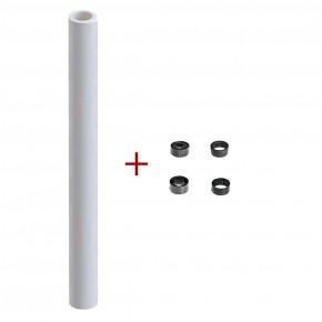 Papier sans fin blanc, rouleau de 25 m