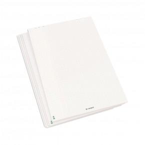 Blocs de papier blanc pur pour tableau de conférence, à réticule
