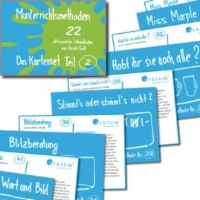 Munterrichtsmethoden - Das Kartenset Teil 2 (Méthodes de l'enseignement dans la joie - Jeu de carte 2e partie)