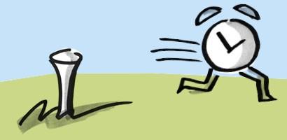 Mit Fokus mehr Zeit gewinnen I Golf und Zeitmanagement