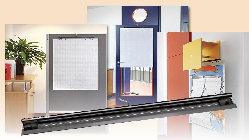 Wie bewahrt man beschriftetes Pinwandpapier richtig auf?