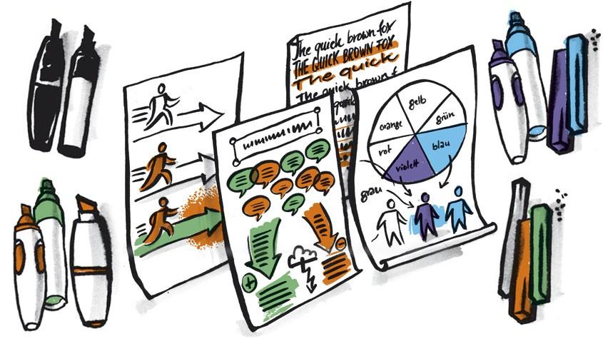 Graphic Facilitation: Frischer Wind für Seminare