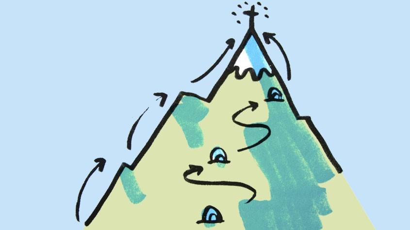 Coaching beim Wandern | Von der Natur lernen