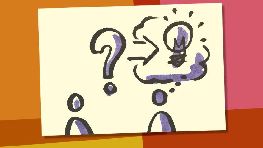Moderationsmethode: So stellen Sie die richtigen Fragen.